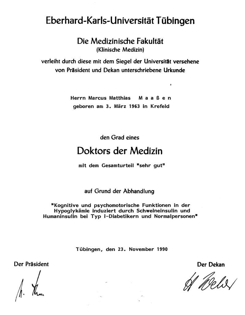 Promotion (magna cum laude)